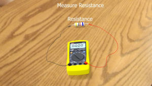 Steps How to Measure Resistance with multimeter