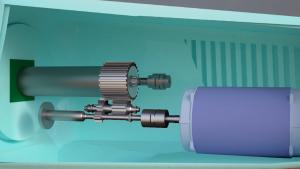 Planetary gearbox in wind turbine