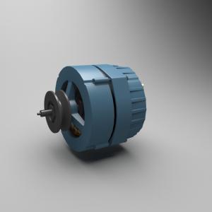 3D model of Alternator